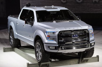 ford atlas concept gives you a look into the future of trucks